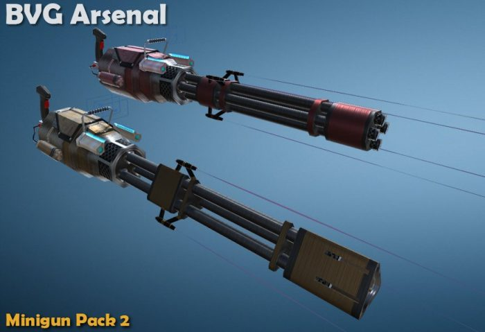 Minigun pack -part 2