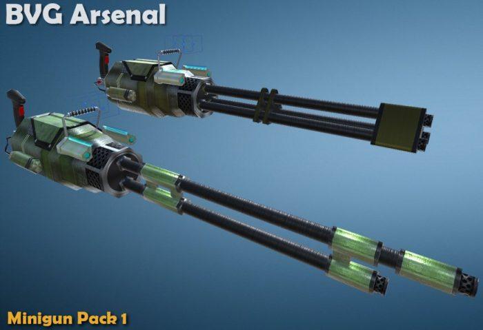 Minigun pack -part 1