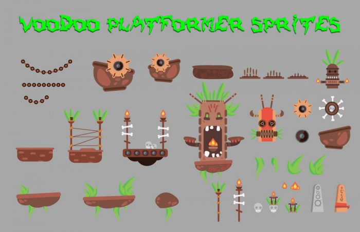 VooDoo Level Sprites