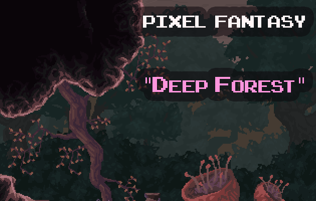 Pixel Fantasy Deep Forest