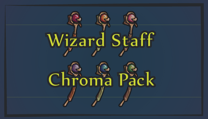 Wizard Staff – Chroma Pack