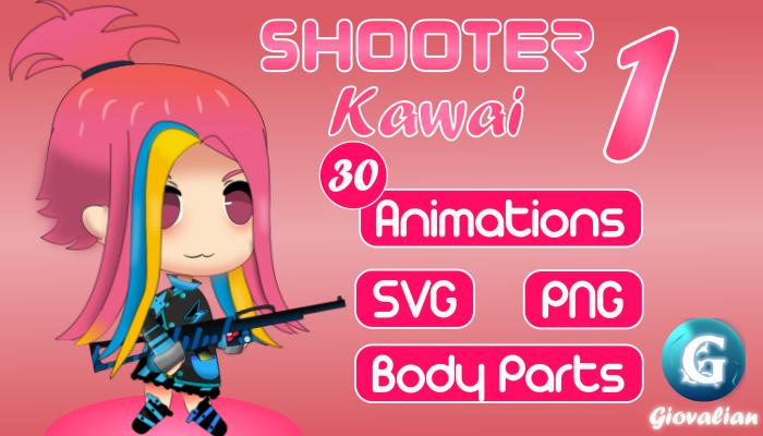 Girl Shooter Kawai 1