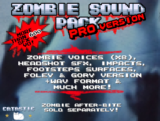 Zombie Sound Pack – Pro Version