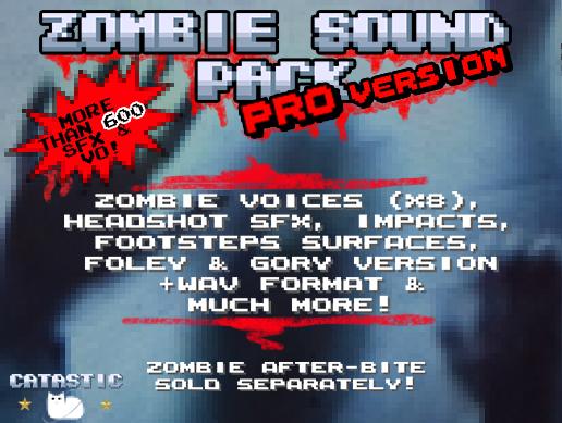 Zombie Sound Pack – Pro Version