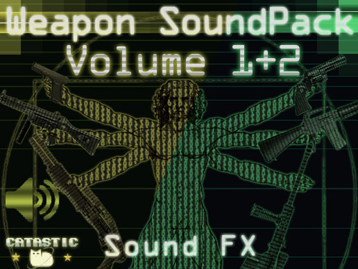 Weapon Sound Pack – Volume 1 + 2