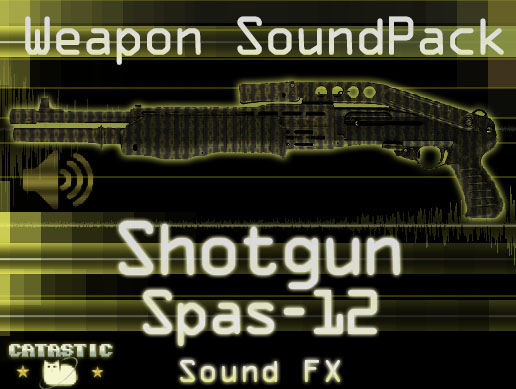 Weapon Sound Pack – Shotgun: Spas 12