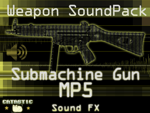 Weapon Sound Pack – SMG: MP5
