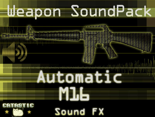 Weapon Sound Pack – Automatic Rifle: M16