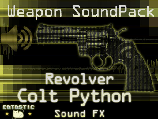 Weapon Sound Pack – Revolver: Colt Python