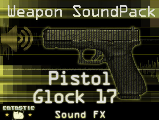 Weapon Sound Pack – Pistol: Glock 17