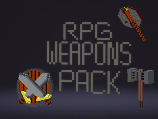Voxel Weapons and Shields