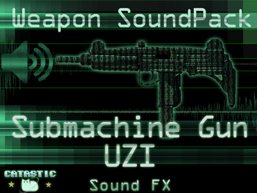 Weapon Sound Pack – SMG: Uzi