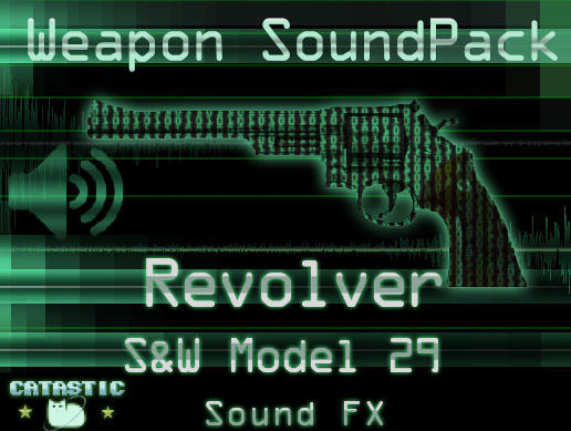 Weapon Sound Pack – Revolver: S&W Model 29