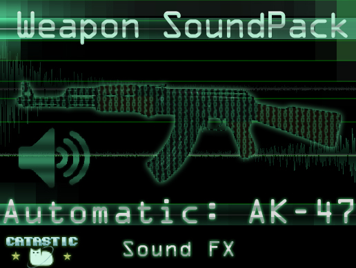 Weapon Sound Pack – Automatic Rifle: AK-47