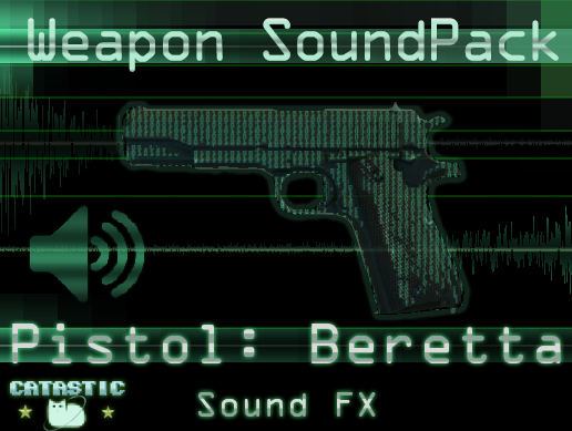 Weapon Sound Pack – Pistol: Beretta 92