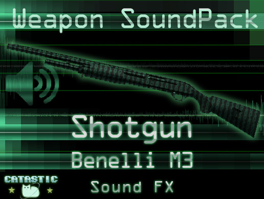 Weapon Sound Pack – Shotgun: Benelli M3