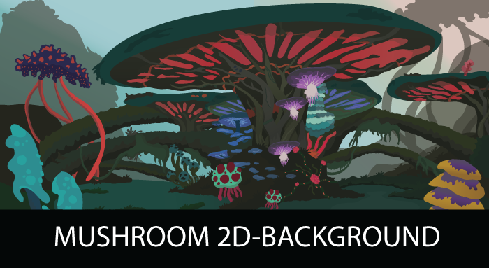 Mushroom Biome(Background)
