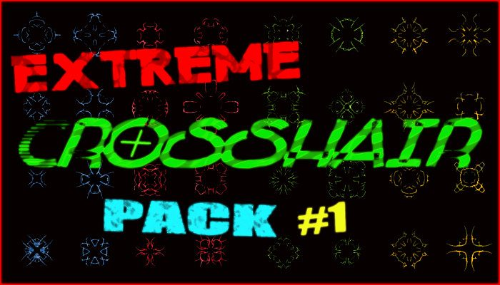 Extreme Crosshair Pack for Action Gamers (100+ Files)