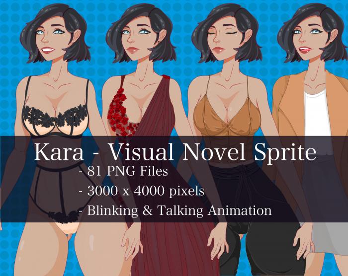 Visual Novel Character – Kara