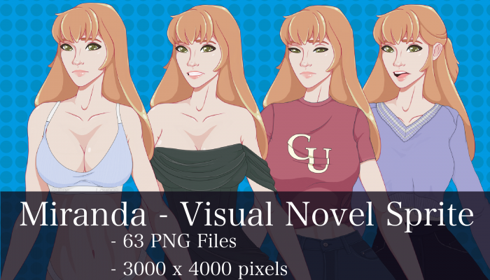 Visual Novel Character – Miranda