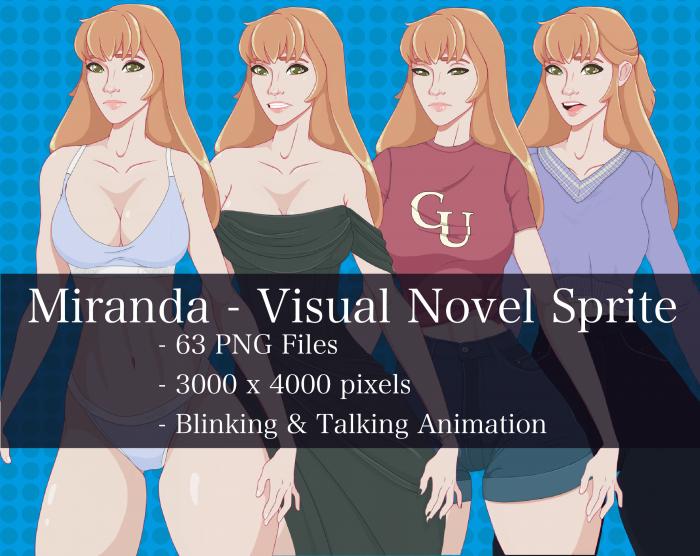 Visual Novel Character – Miranda