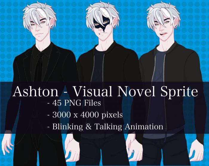Visual Novel Character – Ashton