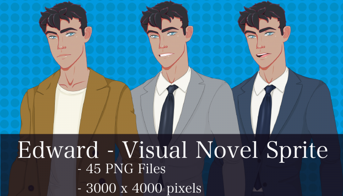 Visual Novel Character – Edward