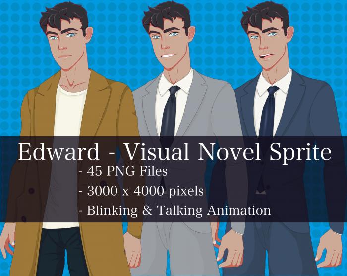 Visual Novel Character – Edward