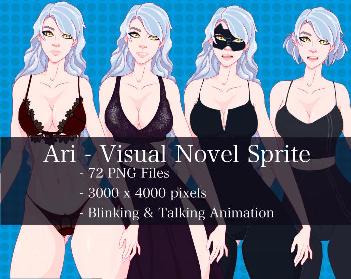 Visual Novel Character – Ari