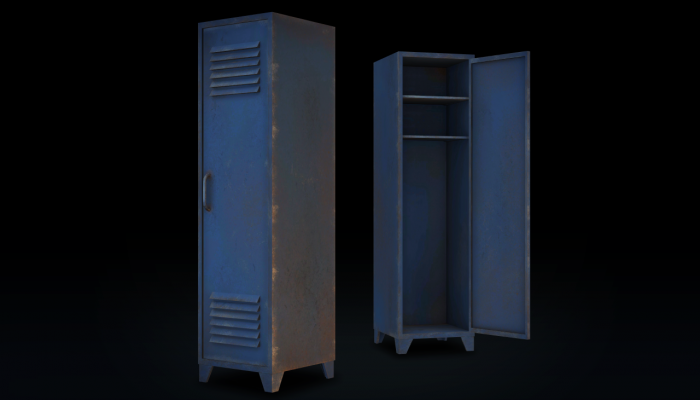 3D Old Locker