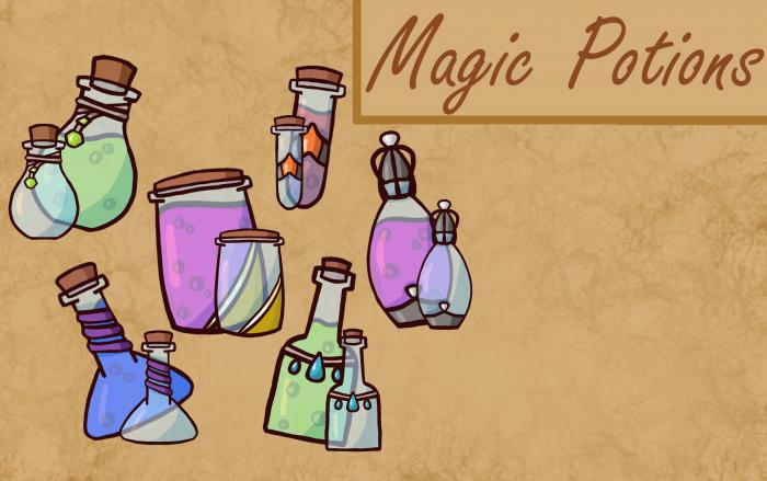 Magic Potion Asset