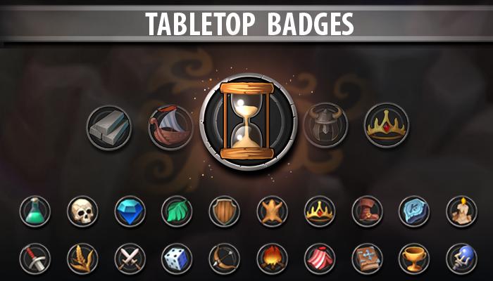 Tabletop Badges