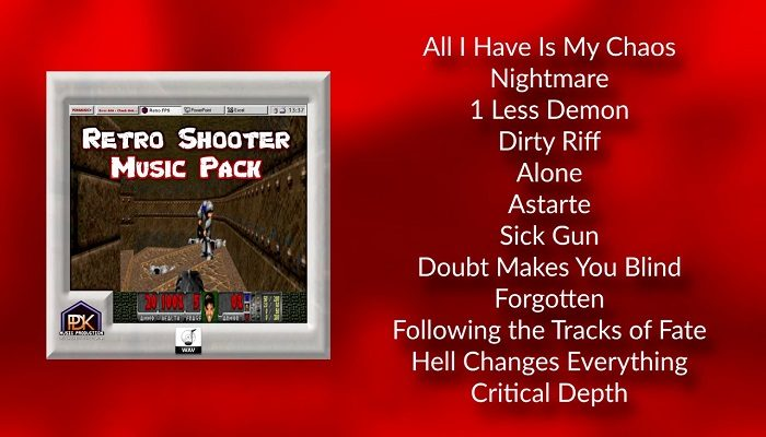 Retro Shooter music pack