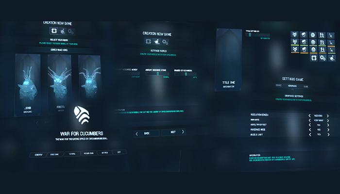 Sci-Fi Style GUI (Nesia 01)