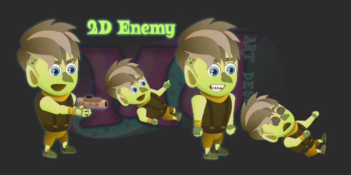 2D Game Enemy