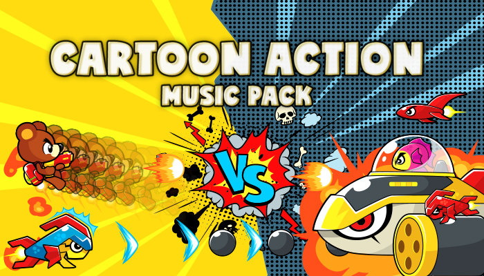 Cartoon Action Music Pack