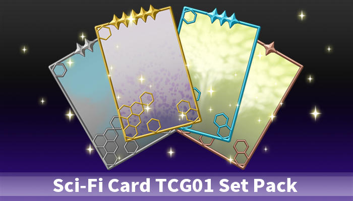 Sci-Fi Card TCG01 Set Pack