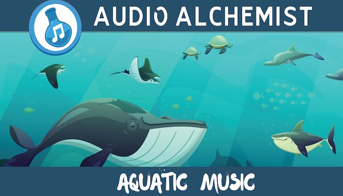 Aquatic Casual Music Loops
