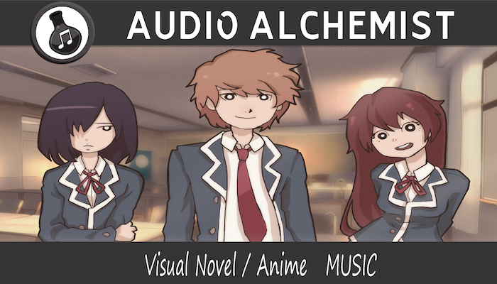 Visual Novel Anime Music Pack