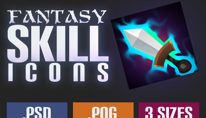 Fantasy Skill Icons