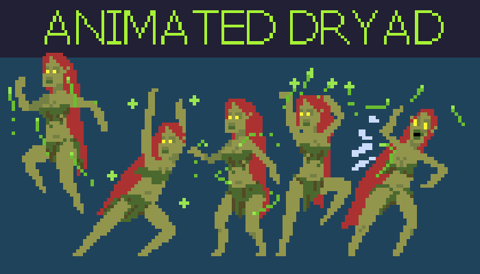 Animated Dryad