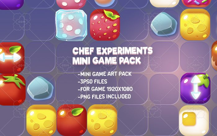 Chef's Experiments Mini Game Kit