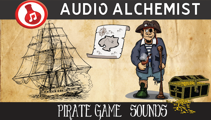 Pirate Game Sounds Pack
