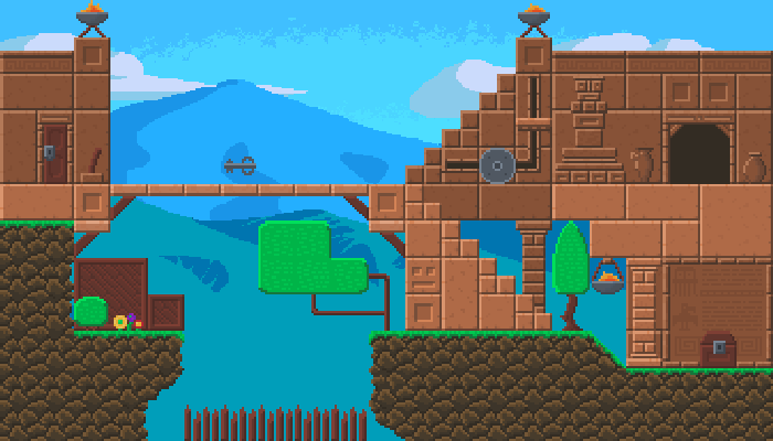 Ancient Temple Tileset