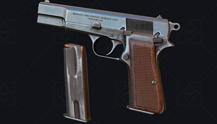 PBR Pistol (Browning HP)