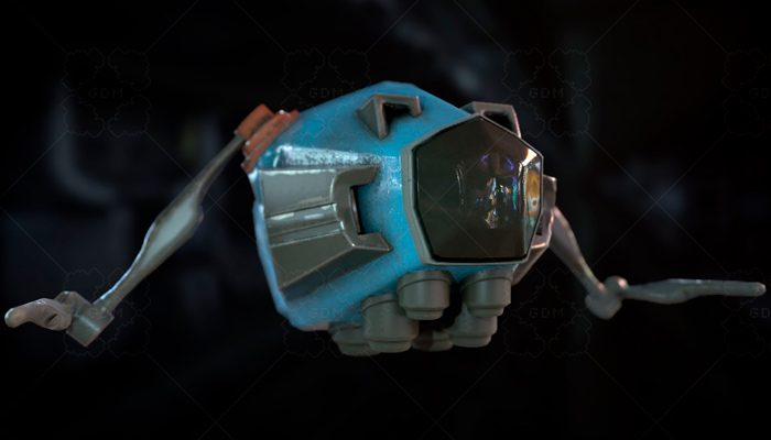 Simple Robot-Welder with animations