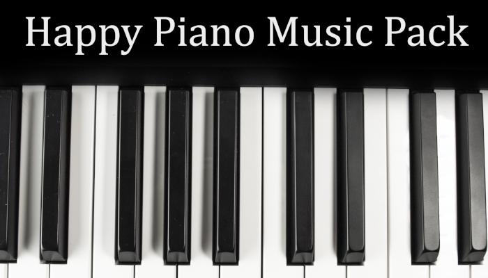 Happy Piano Music Pack