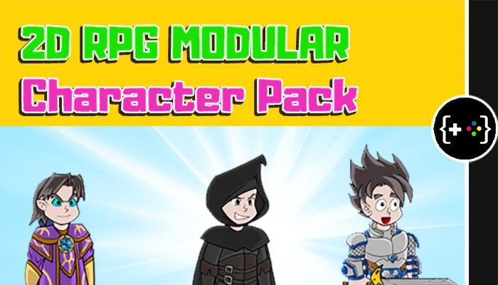 2D Modular RPG Character Pack 01