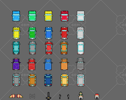 Racing car pack