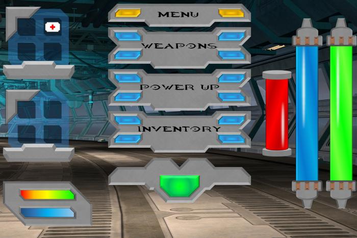 Sci-Fi GUI Megapack